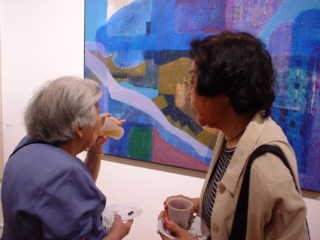 """Subject Matters"" at Phoenix Gallery, 2001"